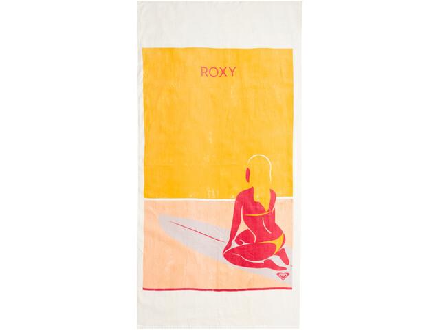 Roxy Pink Lollipop Towel Women snow white